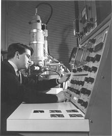 Early 60s SEM with Mike Driver at the controls.